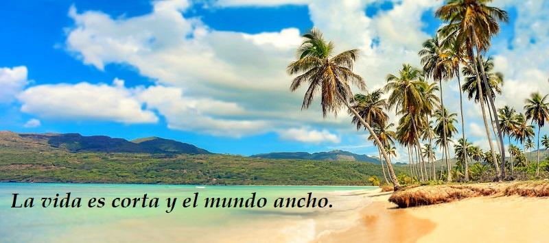 frases para viajar a la playa